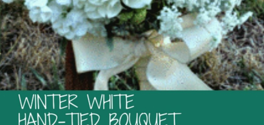DIY Floral Design Class - Hand Tied Bouquet - El Dorado, California